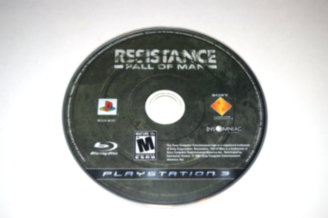 Resistance Fall of Man Playstation 3 PS3 Video Game Disc Only
