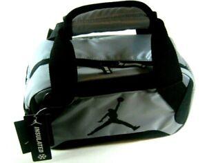 24ccf871db0f NIKE AIR JORDAN GIRL BOY GRAY INSULATED LUNCH BOX TOTE LUNCHBOX BAG ...
