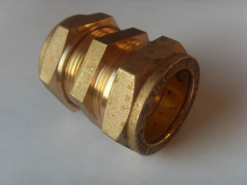 Klemmverschraubung Kupferrohr gerade mit DVGW-Zulassung alle Größen