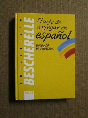 Bescherelle Espagnol 12000 Verbes Z149 Ebay