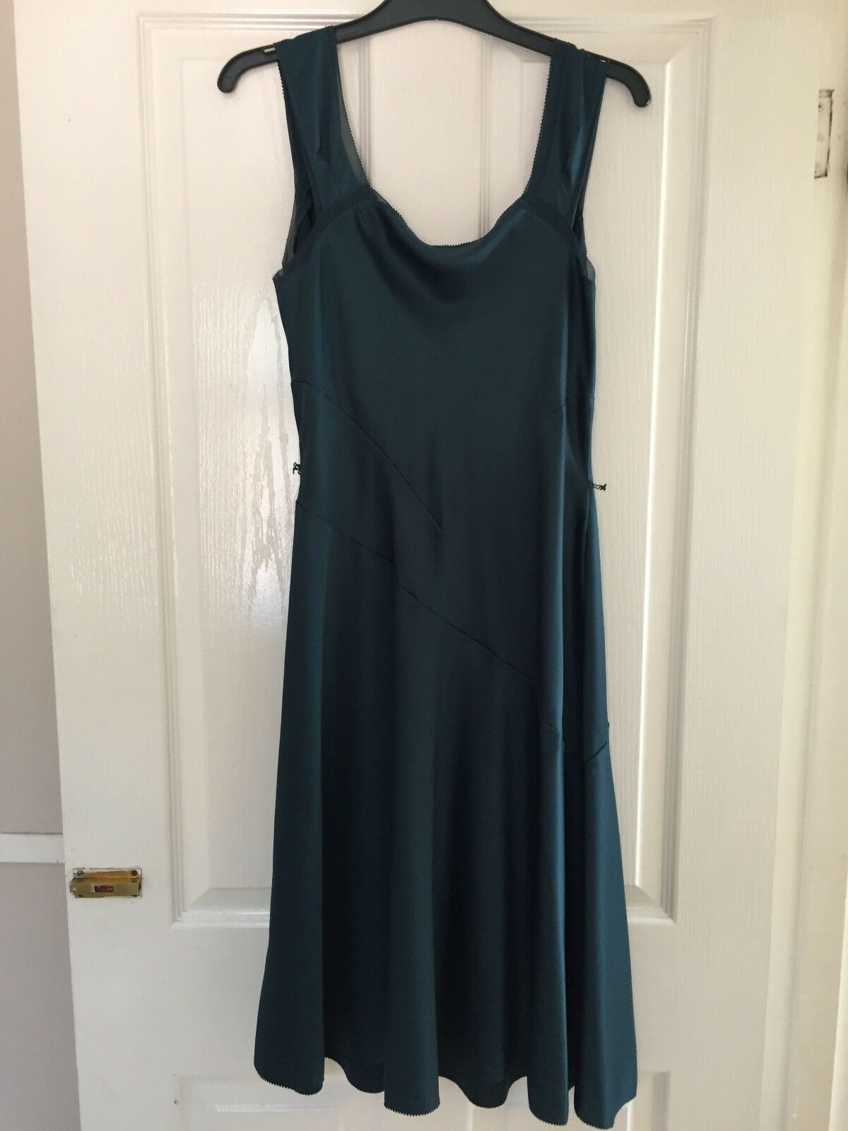 Gorgeous wrap over dress by Elements Amanda Wakeley size 12