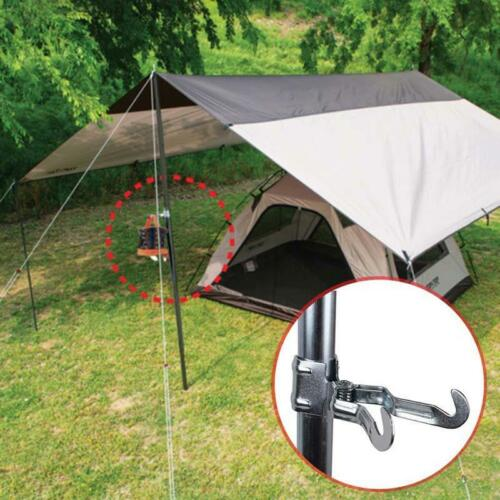Useful Tent Pole Lantern Tissue Box Dry Net Hanger Clamp Clip Hot Sale LA