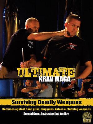 /'Surviving Deadly Weapons/' Ultimate Krav Maga Disc 4 /& 5