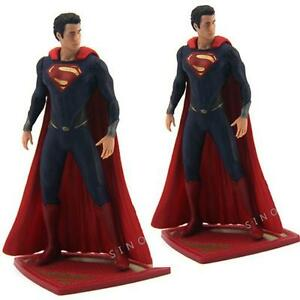 New-LOT-2PCS-DC-UNIVERSE-COMICS-2013-SUPERMAN-Super-Man-of-Steel-Figure
