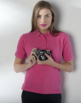 Henbury Ladies Casual Formal 65/35 polo T Shirt HB401  All Colours & Sizes