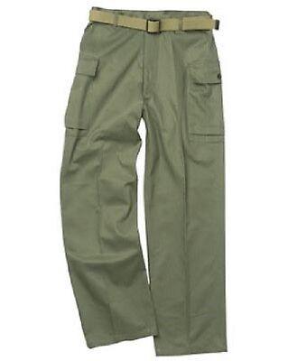Avere Una Mente Inquisitrice Us Army Hbt Wwii Pantaloni Campo (repro) Vintage Pantaloni Pants Trousers S/small-mostra Il Titolo Originale