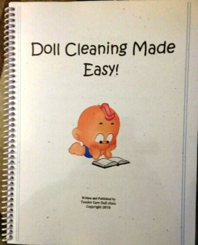 NEW 2018! with Color Photos Doll Cleaning guide book