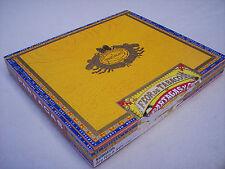 Empty Cigar Box Flor de Tabacos de Partagas YCA Wooden Box Paper Covered