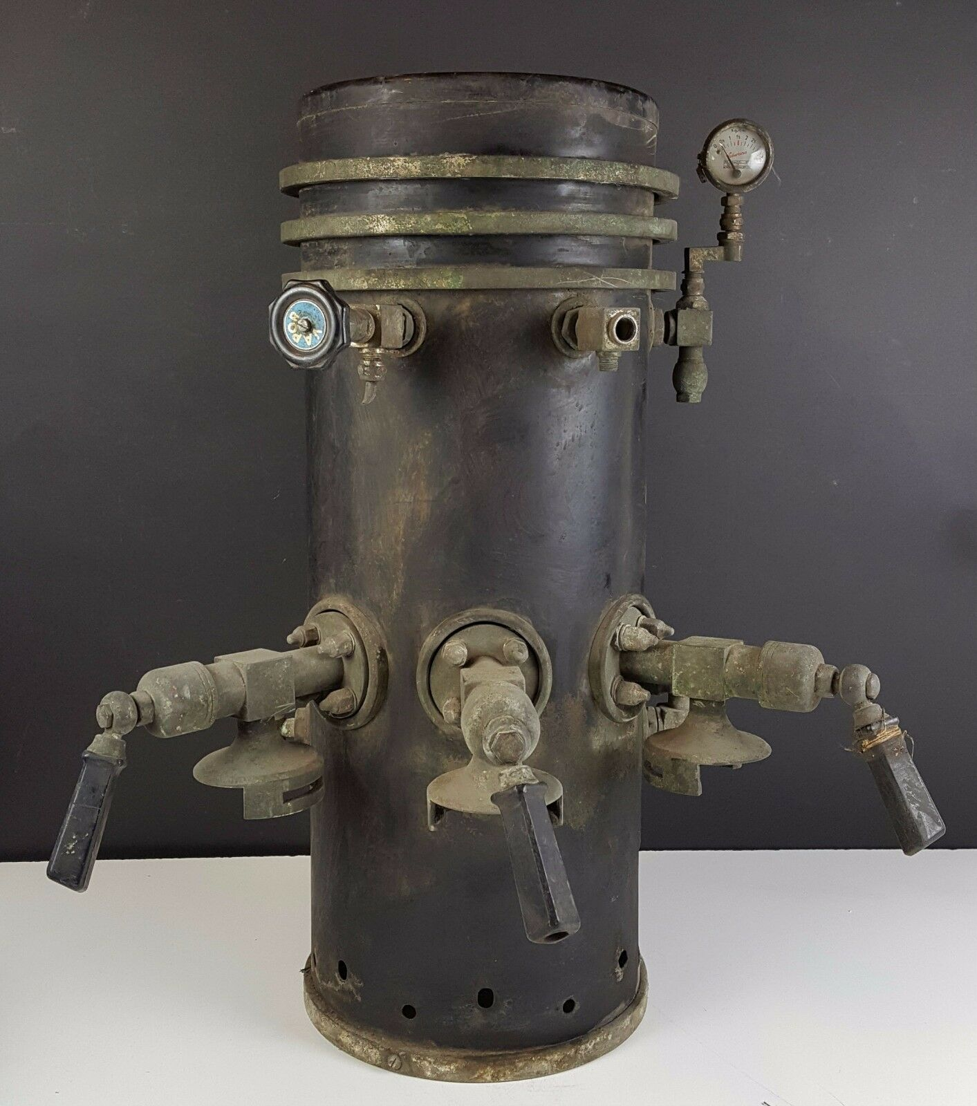 COFFEE MAKER EXPRESS BOILER THREE ARMS. CAMPEONA. CIRCA 1920 1930.