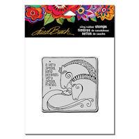 Laurel Burch Rubber Stamps Cling Aquatic Horses Cling Stamp