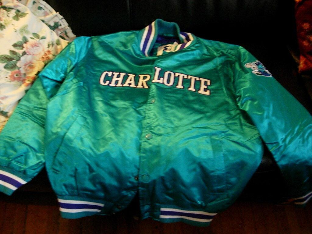 Starter Jacket Charlotte Hornet Mens Dimensione Small, NBA  Basket ball  liquidazione fino al 70%