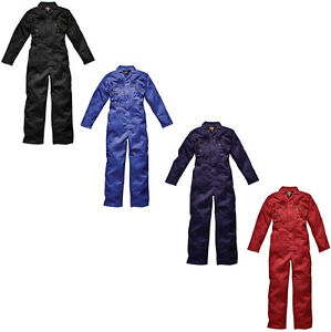 MENS-DICKIES-REDHAWK-ZIP-FRONT-COVERALL-OVERALLS-BOILERSUIT-WD4839-ALL-SIZES