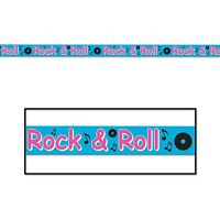 Rock N Roll Party Tape Music Party Decoration