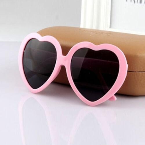 New Retro Love Heart Shaped Sunglasses Large Fashion Fancy Dress Party HenNight
