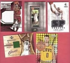 Cleveland Cavaliers Cavs Hot Pack! NBA Guaranteed 4 Auto / Game Used Per Pack