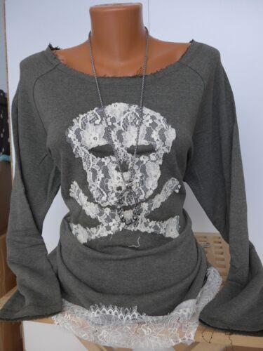 Arizona AJC Damen Pullover Pulli Sweatshirt Gr 32//34-40//42 Totenkopf 390