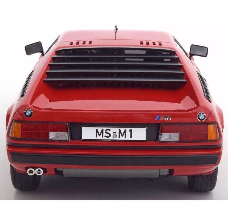 New 1 12 KK Scale Models 1978 BMW M1 E26 E26 E26 Red 600pcs M3 M5 M6 e22f40