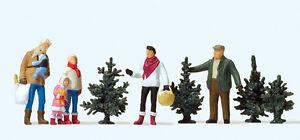 Preiser-10627-Weihnachtsbaumverkauf-1-87