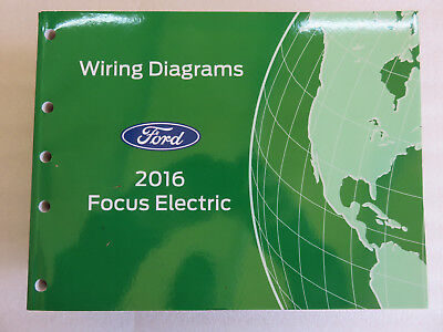 2016 ford focus electric service manual electrical wiring diagram oem  factory  ebay