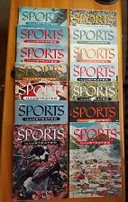 Sports Illustrated 1954 Complete Newsstand Set Of 14 Commons Great Condition!!!