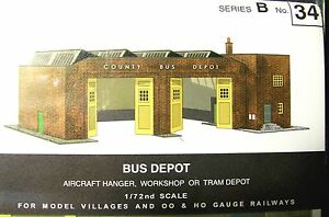 OO scale card kit Superquick A10 Terminus or Through Station