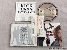 INXS - Kick JAPAN 1ST PRESS CD (32XD-864) OBI