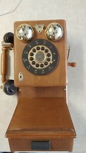 Vintage-Replica-1921-THOMAS-COLLECTOR-S-EDITION-WOOD-COUNTRY-TELEPHONE