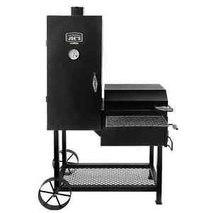 oklahoma joe 39 s 63 in h x charcoal bbq vertical smoker outdoor cooking 16200296 ebay. Black Bedroom Furniture Sets. Home Design Ideas