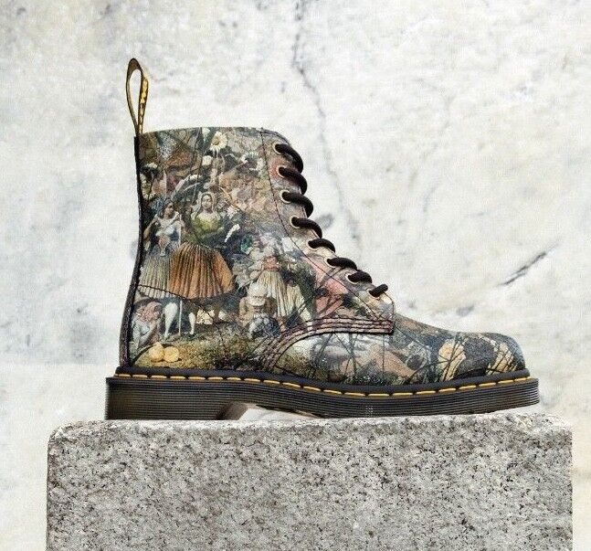 DR. MARTENS X RICHARD DADD X TATE BRITAIN PASCAL CRISTAL SUEDE BOOTS 24190102