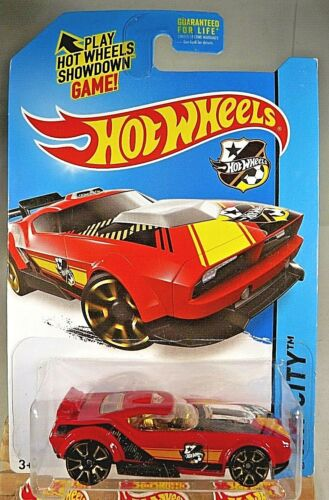 Details about  /2014 Hot Wheels #17 HW City-HW Goal FAST FISH Red Variation w//Gold Trap5 Spokes