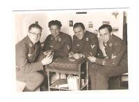 Altes Foto Bild Deutsches Reich 2. Weltkrieg Gruppe Soldaten Luftwaffe [443]