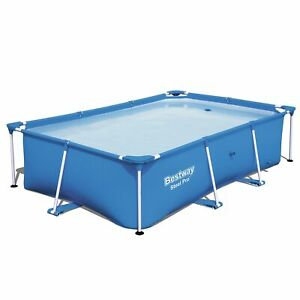 Bestway-Steel-Pro-8-5-039-x-5-6-039-x-2-039-Rectangular-Ground-Swimming-Pool-Pool-Only