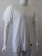 BNWT ELEVEN Paris White Hollywood City Number T-Shirt Size Large (R94)