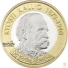 5 euros commémorative FINLANDE 2016  Président Kyösti Kallio 1873-1940