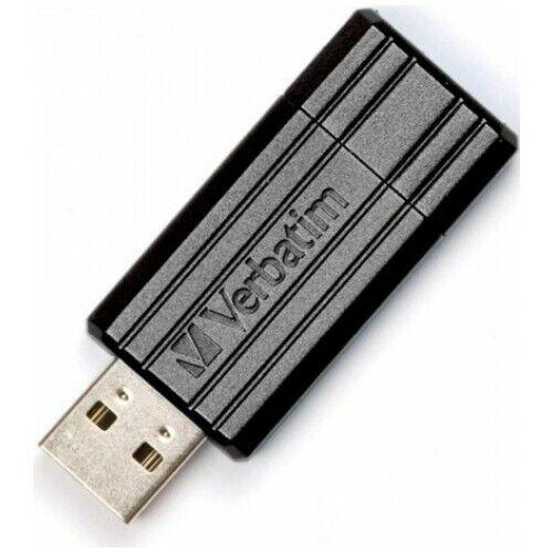 Clé USB Verbatim 32 Go PinStripe Noir - neuf