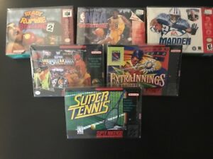 20-SUPER-NINTENDO-50mm-THICK-VIDEO-GAME-SNES-N64-BOX-PROTECTORS-CLEAR-CASES-CIB