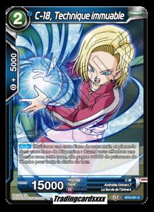 BT9-031 C Technique immuable ♦Dragon Ball Super♦ C-18 VF