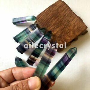 5pcs-Natural-Fluorite-Quartz-Crystal-Wands-Crystal-Points-Healing-Random
