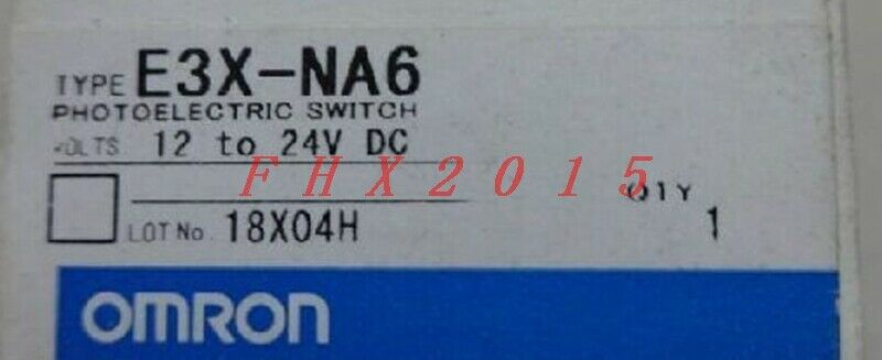 Brand NEW OMRON Photoelectric Switch E3X-NA6 12-24VDC