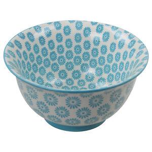 Image is loading Oriental-Blue-Porcelain-Kitchen-Soup-Cereals-Salads-Snacks-  sc 1 st  eBay & Oriental Blue Porcelain Kitchen Soup Cereals Salads Snacks Food Bowl ...