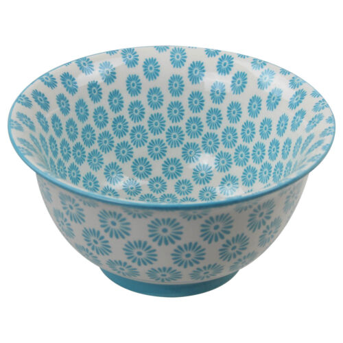 Oriental Bleu Porcelaine Cuisine Soupe Céréales salades Snacks Nourriture Bol vaisselle