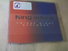 KING ADORA - FRIDAY NIGHT EXPLODES - UK PROMO CD SINGLE
