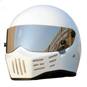 DOT Approval Motorcycle Helmet Racing Full Face Fiberglass Moto Motorbike Helmet