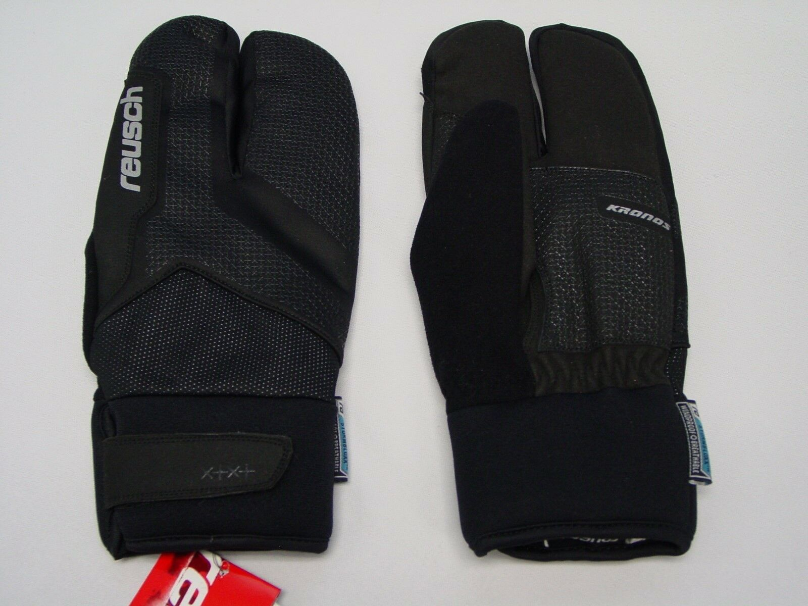Neu Reusch Kronos Lobster Stormbloxx Ski Nordische Handschuhe Erwachsene Medium