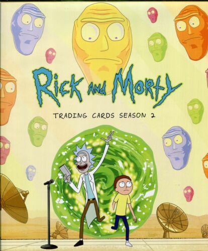 Rick /& Morty Season 2 Official Cryptozoic Binder