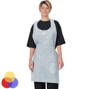 Denny-039-s-Polythene-Disposable-Aprons-5-Colours-Available-200-Roll-27-034-x-42-034-WHITE