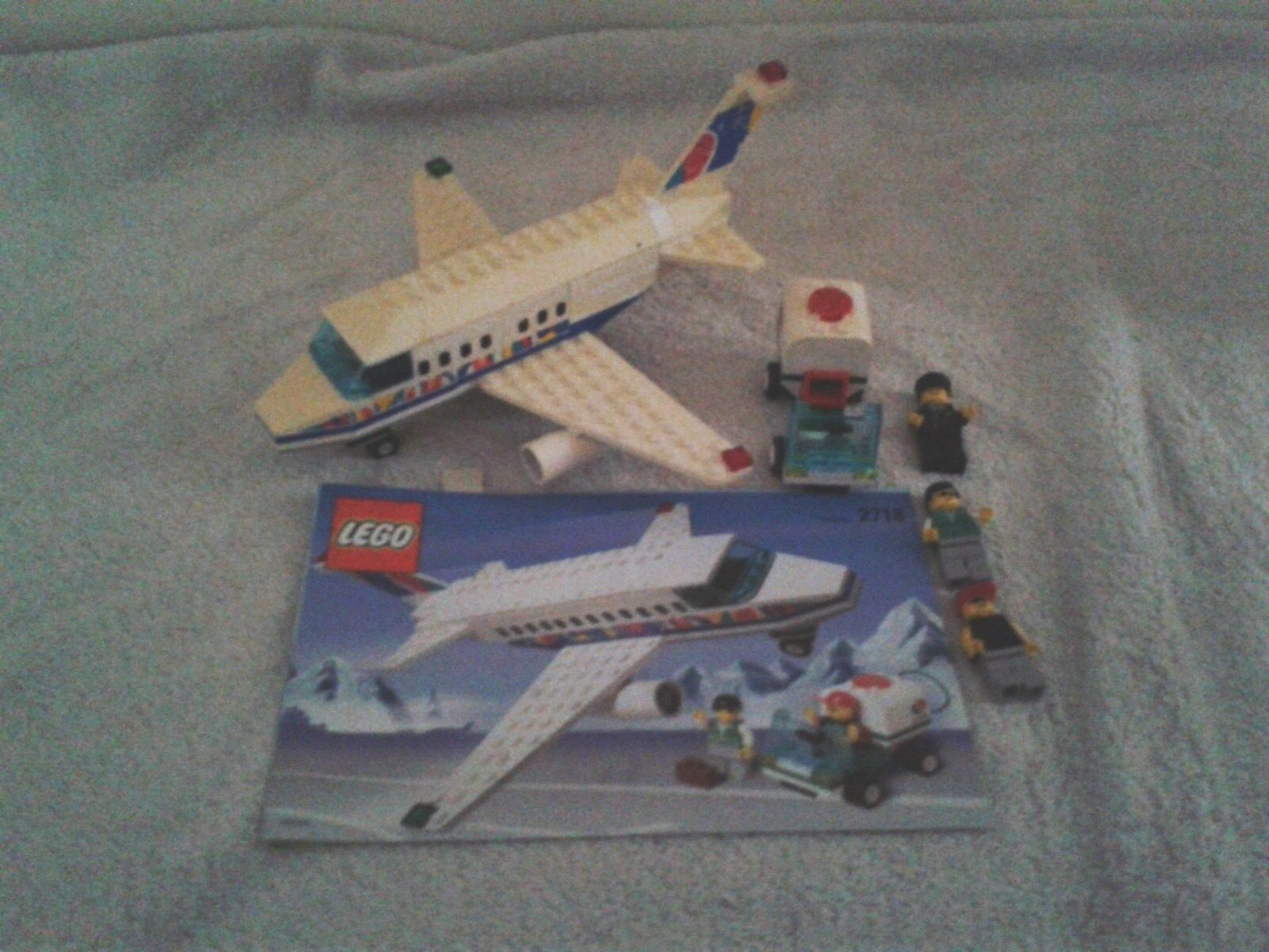Lego Lego Lego 2718 rare set Passenger Aircraft and ground crew 4cc9f0