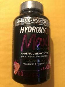 HYDROXYCUT MAX ! For Women Powerful Weight Loss, 60 Liquid Capsule Exp 01/2022