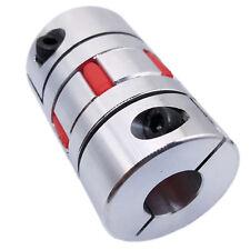 Us Stock 16mm X 17mm Cnc Flexible Plum Coupling Shaft Coupler Connect D40 L65