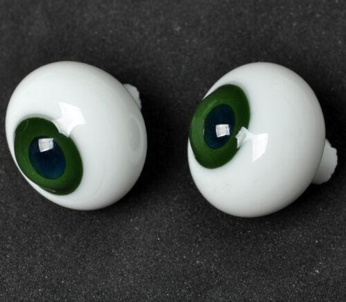 Pink Iris/&Pupil Glass BJD Eyes for Reborn//NewBorn BJD Doll Nice 18mm